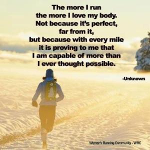 more than runnning